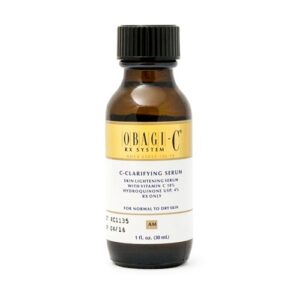 Obagi c-clarifying serum